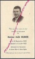 En 1952  (59) Photo André DELBAERE Né 1929 - Décès