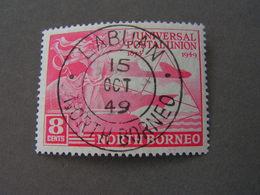 Labuan Cancel , Fine Stam 1949 - North Borneo (...-1963)