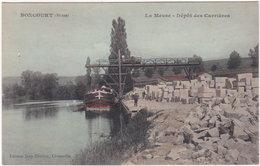 55. BONCOURT. La Meuse. Dépôt Des Carrières - Autres Communes