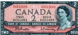 2 Dollard Bank Of CANADA -NEUF - Canada