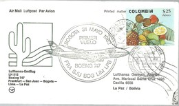 PRIMER VUELO  1982 - Colombia