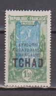 TCHAD         N°  YVERT  :  44    NEUF AVEC  CHARNIERES      (  CH 2/33 ) - Chad (1922-1936)