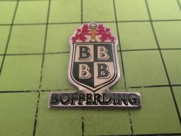 511B Pin's Pins / Beau Et Rare : THEME : VILLES / BOFFERDING BLASON ECUSSON ARMOIRIES - Städte