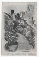 MONACO EN 1904 - N° 503 - LE PALAIS DU PRINCE - BEAU CACHET - CPA PRECURSEUR VOYAGEE - Palacio Del Príncipe