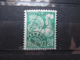VEND BEAU TIMBRE PREOBLITERE DE FRANCE N° 114 , X !!! (b) - Precancels