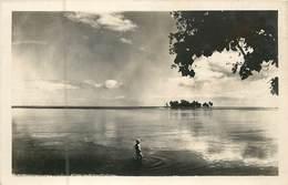 France -  Polynésie Française :  Tahiti  Ilot De Motu Uta  ( Carte Photo )  Réf 6681 - Polynésie Française