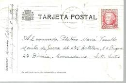 TARJETA POSTAL 1938  CORRESPONDENCIA  GUERRA CIVIL - 1931-50 Cartas