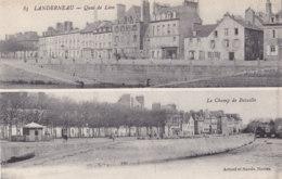 Landerneau (29) - Quai De Léon - Le Champ De Bataille - Landerneau
