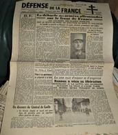 Rare Journal Défense De La France Du 9 Août 1944 Libération De Rennes - 1939-45