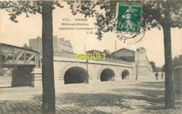 Paris, Métropolitains Stations Corvisart, Belle Carte Pas Courante Affranchie 1907 - Arrondissement: 13