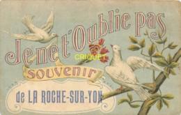85 La Roche Sur Yon, Ancienne Fantaisie, Souvenir, Couple De Colombes, Artaud Nozais 3 - La Roche Sur Yon