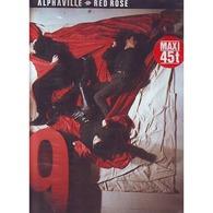ALPHAVILLE  °° RED ROSE - 45 Toeren - Maxi-Single