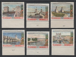 USSR - Soviet Union 1953 Sowjetunion Mi 1669-1674 1st Anniversary Of The Opening Of Volga-Don Canal NG - 1923-1991 USSR