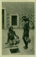AFRICA NUDE / NAKED BLACK WOMAN - RISQUE PHOTO 1920s/30s (BG733) - Afrique Du Nord (Maghreb)
