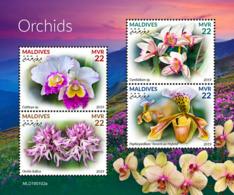 Maldives  2019   Orchids  S201904 - Maldives (1965-...)
