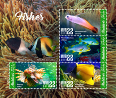 Maldives  2019   Fauna  Fishes  S201904 - Maldives (1965-...)