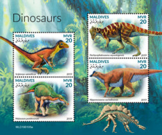 Maldives  2019    Dinosaurs  S201904 - Maldives (1965-...)