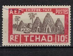 TCHAD          N°  YVERT    TAXE 13       OBLITERE     ( Ob 02 / 02 ) - Usados
