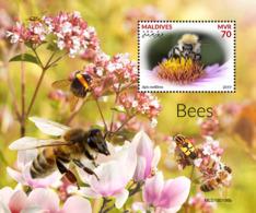 Maldives  2019   Fauna Bees  S201904 - Maldives (1965-...)
