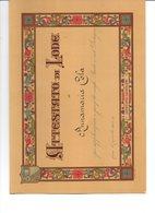 TRE  ATTESTATI DI LODE PER LO STUDIO, ORDINE, LAVORO, MUSICA E DISEGNO 1931/32-1933/34-1938/39 - Diplomas Y Calificaciones Escolares