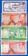 Gambie  4  Billets - Gambia