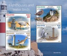 Maldives  2019   Fauna  Lighthouses And Water Birds  S201904 - Maldives (1965-...)