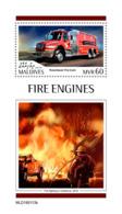Maldives  2019    Fire Engines  S201904 - Maldiven (1965-...)