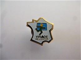 """PINS VIRADE L""""ESPOIR CARTE DE FRANCE  / 33NAT - Associations"""