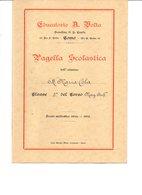 REGNO D'ITALIA PAGELLA SCOLASTICA ANNO 1934/1935 - Diplomas Y Calificaciones Escolares