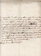 Borgo Valsugana (Trento) - Antico Documento Manoscritto Datato 21 Aprile 1808 - Vedi Descrizione Su Foto - (FDC16084) - Manoscritti