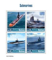 Maldives  2019   Submarines  S201904 - Maldives (1965-...)