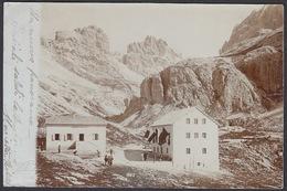 Italia  - BOZEN / BOLZANO, Panorama 1902  -  Foto Cartolina, Wilhelm Muller - Bolzano (Bozen)
