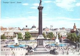 CARTOLINA GRANDE  X ITALY - Trafalgar Square