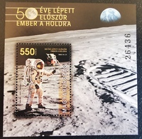 Hungary 2019. Space - Member On The Moon - 50. Anniversary - Nice Sheet MNH (**) - Europe