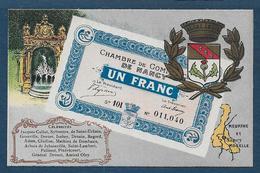 Billet De 1 Franc - Chambre De Commerce De Nancy - Nancy