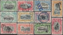 Congo Belge 1908 COB Taxe 1 à 6D, Superbes Et Rares - Belgisch-Kongo