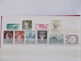 AUTRICHE -  Année 1960   Du N° 915/24  NEUFS XX  VOIR  PHOTO - Oostenrijk