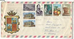 BALEARES SOBRE TURISTICO AVION CARABELA EUROPA CEPT NAVIDAD ARTE PINTURA - 1931-Hoy: 2ª República - ... Juan Carlos I