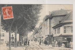 CPA-01-Ain- BELLEY- Rue Du Cordon Et Place Des Fours- - Autres