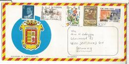 CANARIAS SOBRE TURISTICO CC SELLOS EUROPA CEPT NAVIDAD FUTBOL FOOTBALL - 1931-Hoy: 2ª República - ... Juan Carlos I
