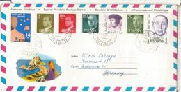 IBIZA SOBRE TURISTICO CC SELLOS MIRO DONACION ORGANOS JUAN DE JUNI ARTE MEDICINA - 1931-Hoy: 2ª República - ... Juan Carlos I