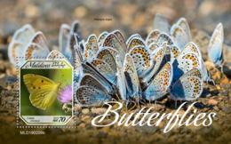 Maldives  2019   Fauna  Butterflies  S201904 - Maldives (1965-...)