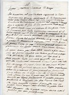 Bosentino (Trento) - Antico Documento Manoscritto Datato 18 Giugno 1852 - Vedi Descrizione Su Foto - (FDC16086) - Manoscritti