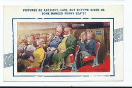 Postcard Comic Artist Signed Taylor Pictures Be Alright ,lass, Bamforth Comic Series No 762 Dated 1942 - Künstlerkarten