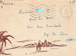 L- Illustrée- Poste Aux Armées- A.F.N- - Guerre D'Algérie