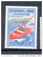 1990 Bateau Offshore  Neuf** N° Yvert 1741 - Monaco