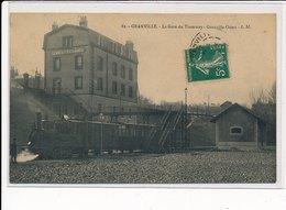 GRANVILLE : La Gare Du Tramway, Granville-ouest - Tres Bon Etat - Granville