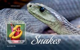 Maldives  2019   Fauna  Snakes  S201904 - Maldives (1965-...)