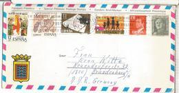 LANZAROTE SOBRE TURISTICO SELLOS PRENSA PRESS AJERCITO ARMY BANDERA SEGURIDAD VIAL - 1931-Hoy: 2ª República - ... Juan Carlos I