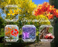 Maldives  2019   Trees And Flowers     S201904 - Maldives (1965-...)